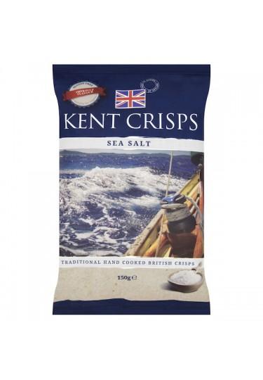 Kent Crisps Sea Salt Kent Crisps 150g Bag
