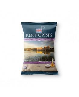 Kent Crisps Sea Salt & Vinegar & Biddenden Cider Kent Crisps 150g Bag