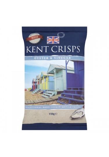 Kent Crisps Oyster & Vinegar Kent Crisps 150g Bag