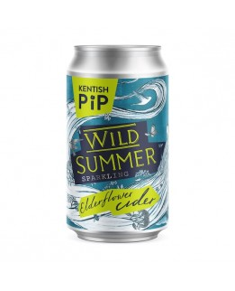 Kentish Pip Wild Summer Sparkling Elderflower Cider 300ml Can