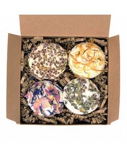 Kentish Soap Company Bath Truffles Pack of 4 - Mixed box