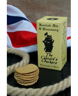 The Captains Crackers Kentish Ale and Rosemary