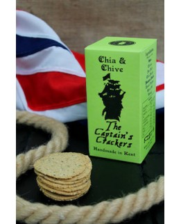 The Captains Crackers Chia & Chive