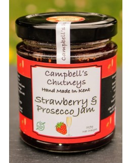 Campbell's Chutneys Strawberry and Prosecco Jam 222g