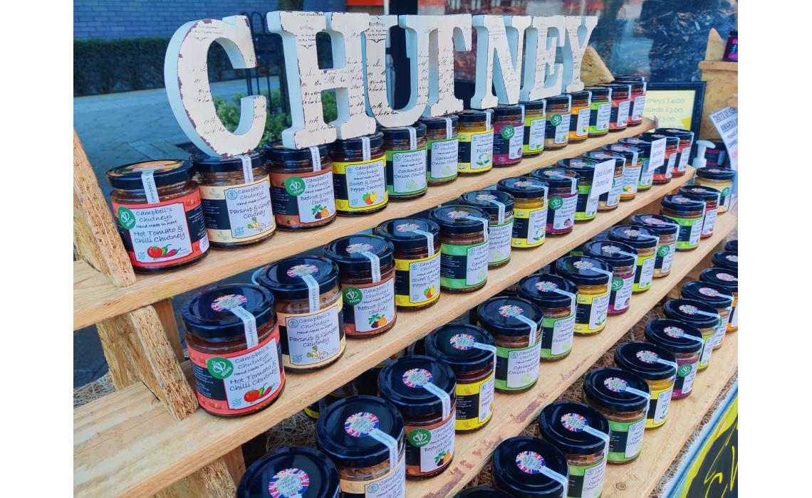 Local Chutneys and Jams