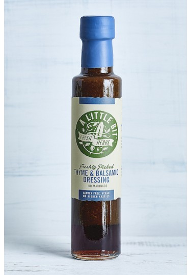Kentish Oils Thyme & Balsamic Dressing 250ml Bottle